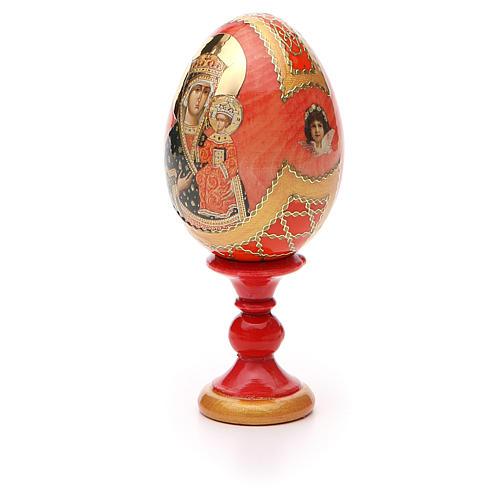 Russian Egg Chenstohovskaya Fabergè style 13cm 6