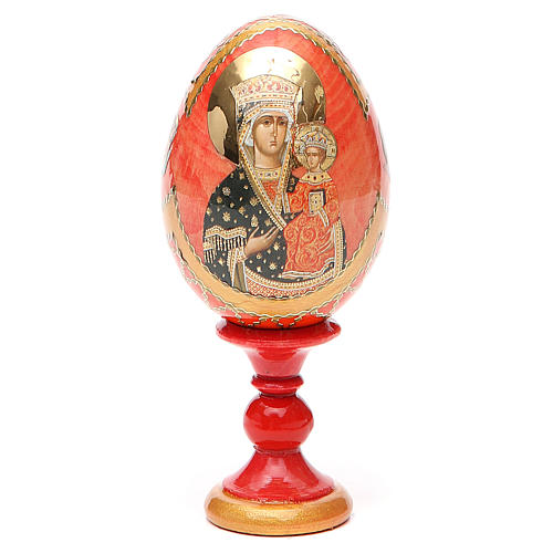 Russian Egg Chenstohovskaya Fabergè style 13cm 9