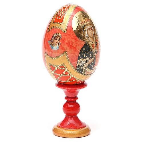 Russian Egg Chenstohovskaya Fabergè style 13cm 12