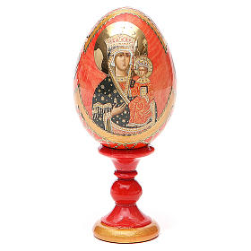 Russian Egg Chenstohovskaya Fabergè style 13cm s1