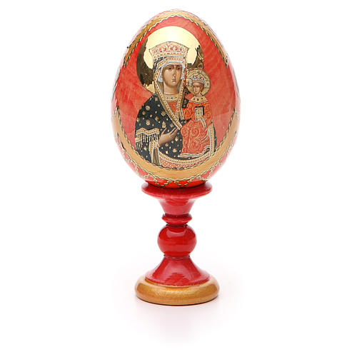 Russian Egg Chenstohovskaya Fabergè style 13cm 5