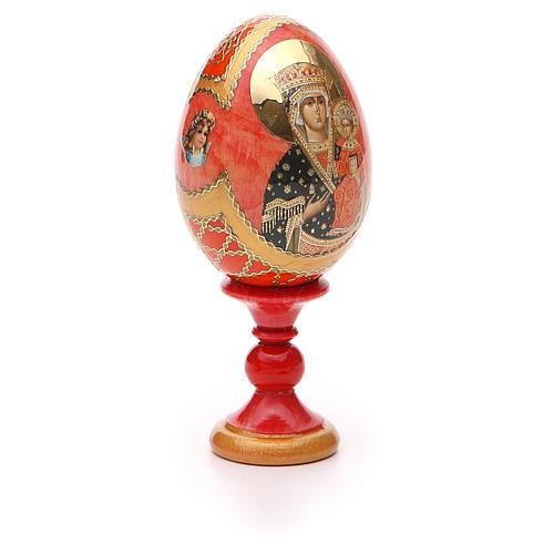 Russian Egg Chenstohovskaya Fabergè style 13cm 8