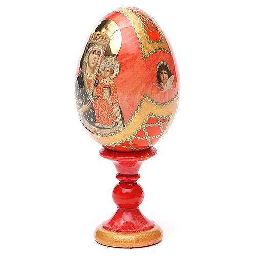 Russian Egg Chenstohovskaya Fabergè style 13cm 2