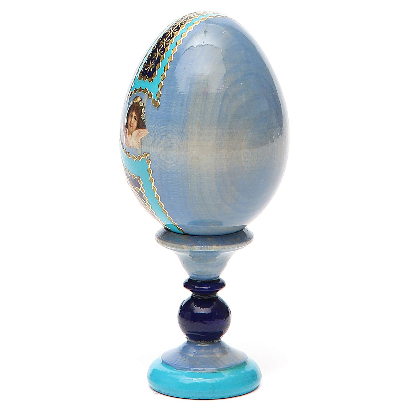 Russian Egg I'm with you and no one against Fabergè 13cm 4