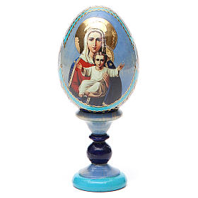 Russian Egg I'm with you and no one against Fabergè 13cm s9