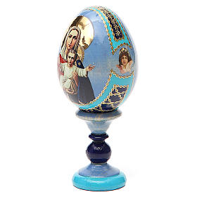 Russian Egg I'm with you and no one against Fabergè 13cm s2