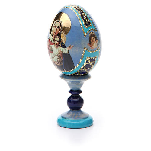 Russian Egg I'm with you and no one against Fabergè 13cm 6