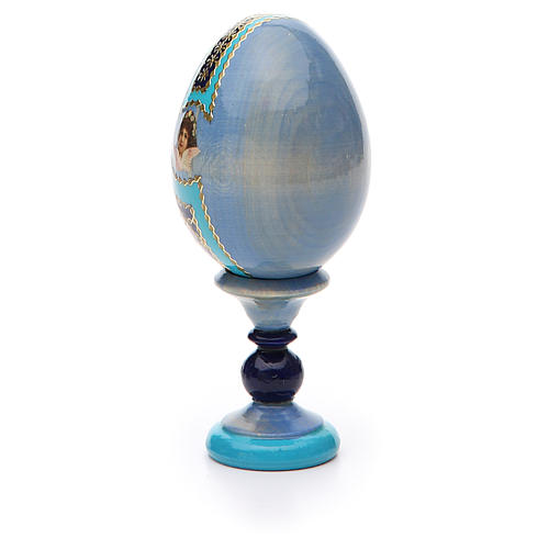 Russian Egg I'm with you and no one against Fabergè 13cm 7