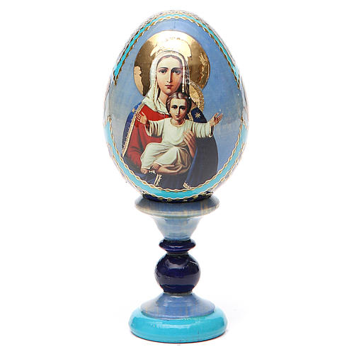 Russian Egg I'm with you and no one against Fabergè 13cm 9