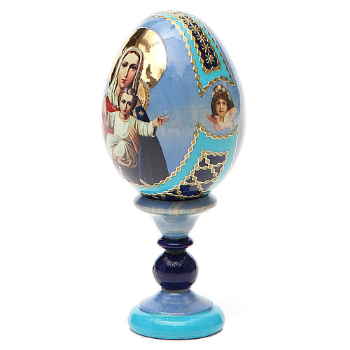 Russian Egg I'm with you and no one against Fabergè 13cm 10