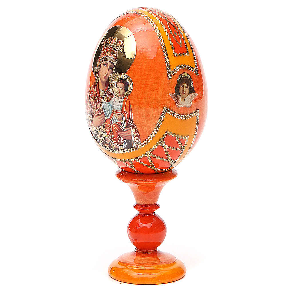 Russian Egg Self-drawn Madonna Fabergè style 13cm 4