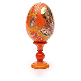 Russian Egg Self-drawn Madonna Fabergè style 13cm s8