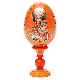 Russian Egg Self-drawn Madonna Fabergè style 13cm s9