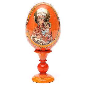 Russian Egg Self-drawn Madonna Fabergè style 13cm s1