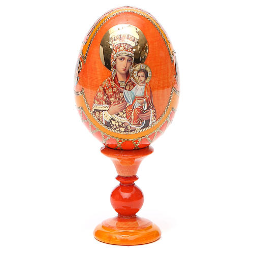 Russian Egg Self-drawn Madonna Fabergè style 13cm 9