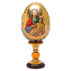 Russian Egg Kozelshanskaya Fabergè style 13cm s1