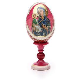 Russian Egg Jerusalemskaya Fabergè style 13cm s5