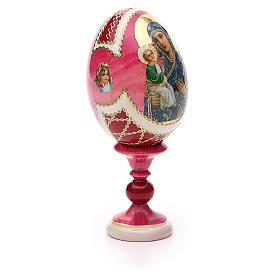 Russian Egg Jerusalemskaya Fabergè style 13cm s8