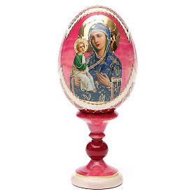 Russian Egg Jerusalemskaya Fabergè style 13cm s9