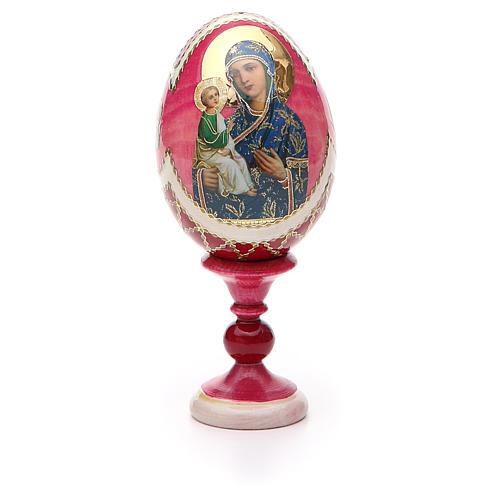 Russian Egg Jerusalemskaya Fabergè style 13cm 5