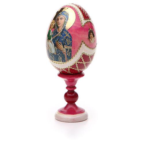 Russian Egg Jerusalemskaya Fabergè style 13cm 6