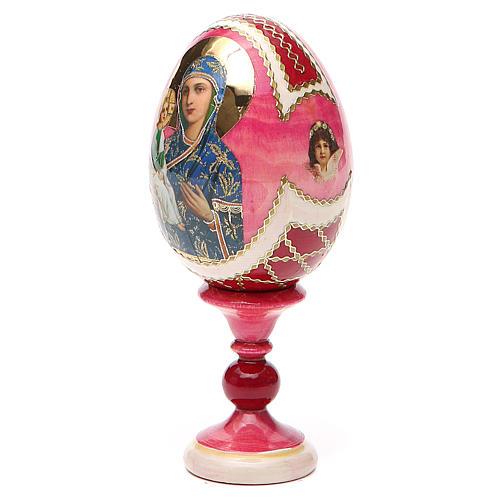 Russian Egg Jerusalemskaya Fabergè style 13cm 10