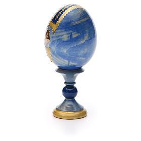 Russian Egg Premonitory Madonna Fabergè style 13cm s7