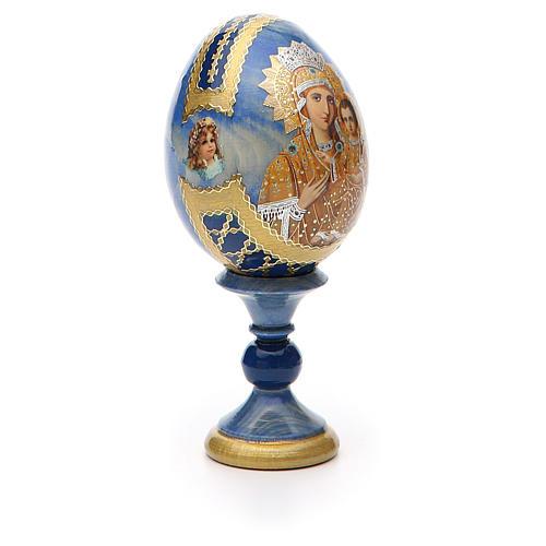 Russian Egg Premonitory Madonna Fabergè style 13cm 8