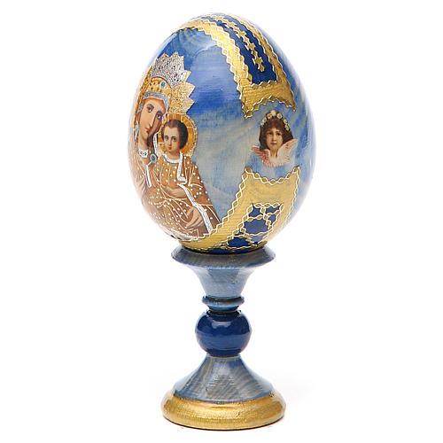 Russian Egg Premonitory Madonna Fabergè style 13cm 10