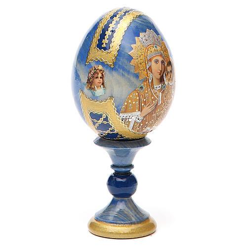Russian Egg Premonitory Madonna Fabergè style 13cm 12