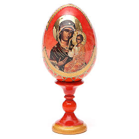 Russian Egg Panagia Portaitissa Fabergè style 13cm s9