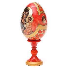 Russian Egg Panagia Portaitissa Fabergè style 13cm s10