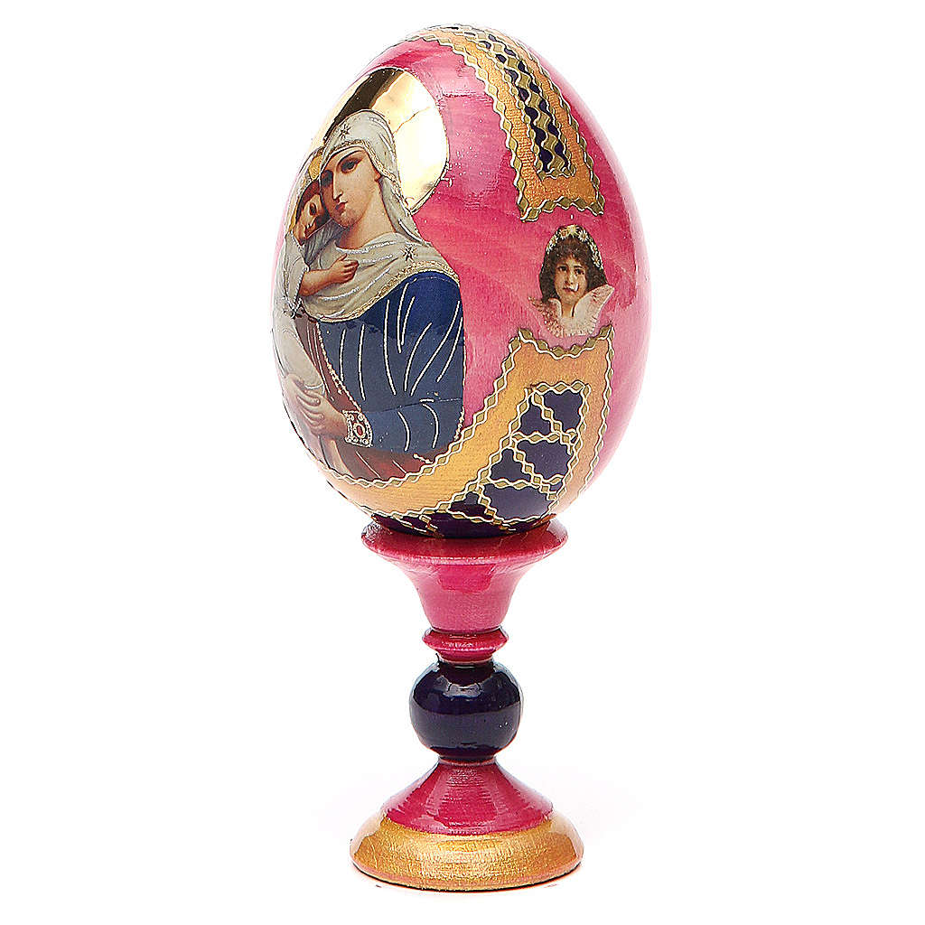 Russian Egg Protectrice of the Fallen Fabergè style 13cm 4