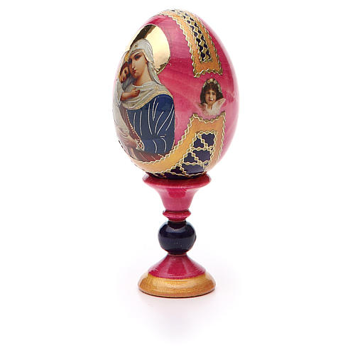 Russian Egg Protectrice of the Fallen Fabergè style 13cm 6