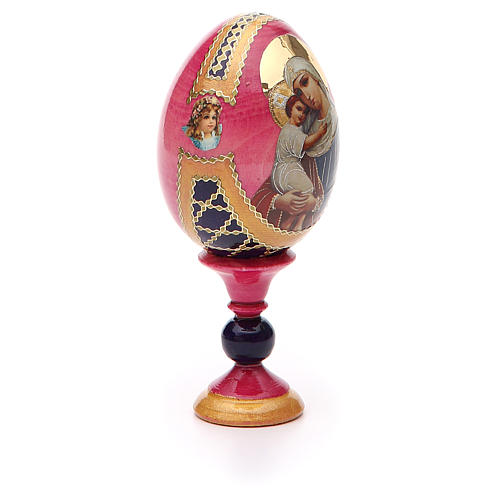 Russian Egg Protectrice of the Fallen Fabergè style 13cm 8