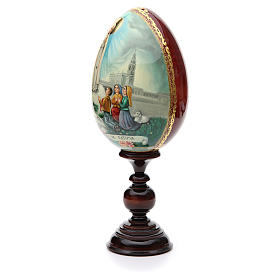 Russian Egg HAND PAINTED Fátima 36cm s2
