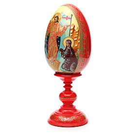 Russian Egg HAND PAINTED Resurrection 36cm s6