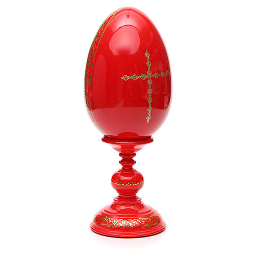 Russian Egg HAND PAINTED Resurrection 36cm 7