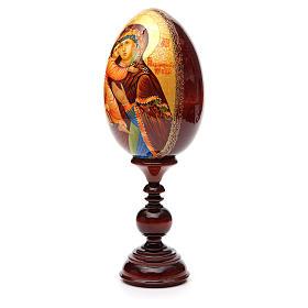Russian Egg HAND PAINTED Vladimirskaya 36cm s6