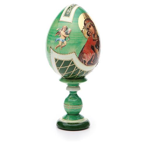 Uovo Russia découpage Feodorovskaya tot h 20 cm stile Fabergè 4