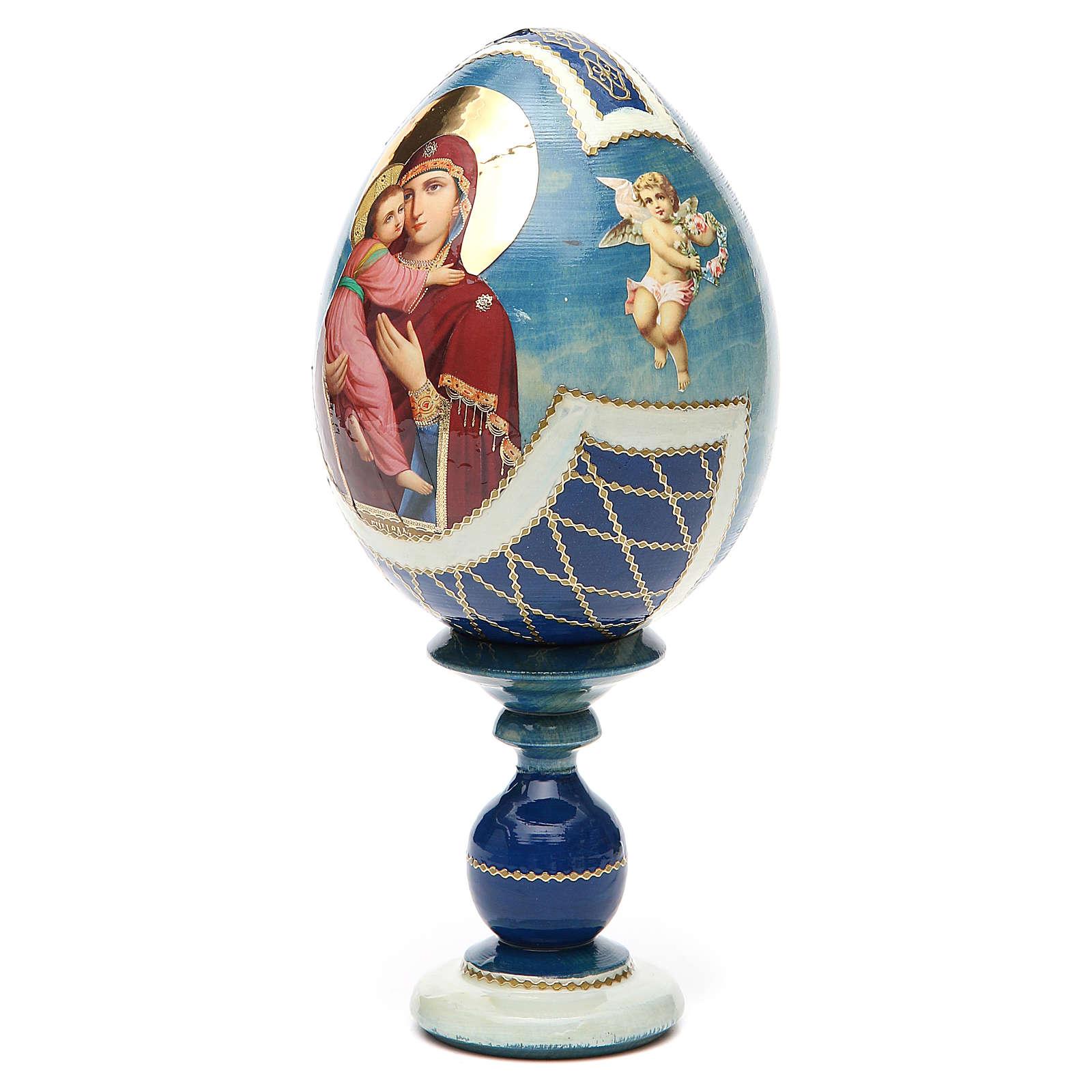 Uovo Russia découpage Vladimirskaya tot h 20 cm stile Fabergè 4