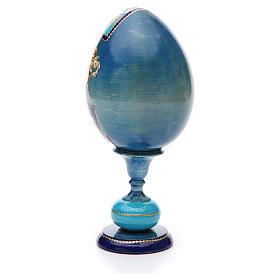 Russian Egg Smolenskaya découpage, Fabergè style 20cm s3