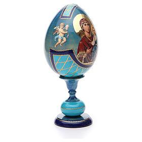Russian Egg Smolenskaya découpage, Fabergè style 20cm s4