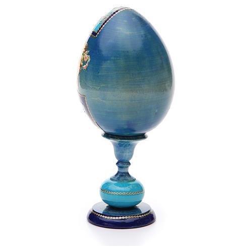 Russian Egg Smolenskaya découpage, Fabergè style 20cm 3