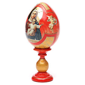 Russian Egg I'm with you découpage, Fabergè style 20cm s6