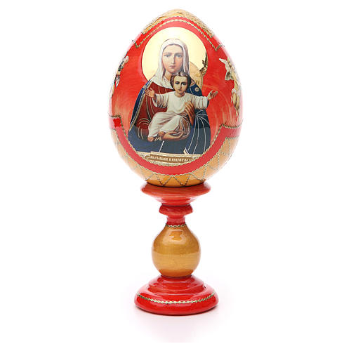 Russian Egg I'm with you découpage, Fabergè style 20cm 1