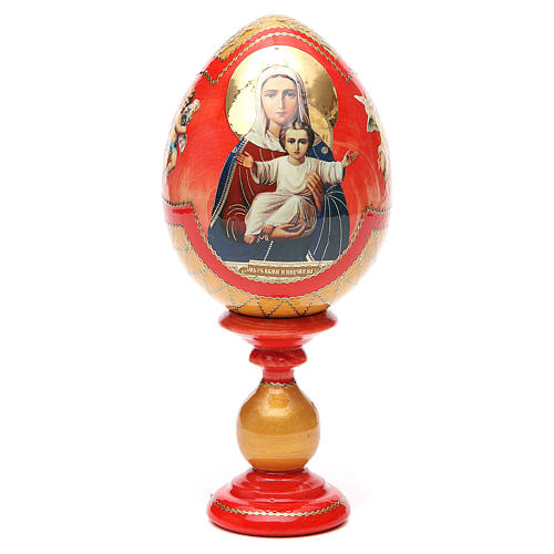 Russian Egg I'm with you découpage, Fabergè style 20cm 5