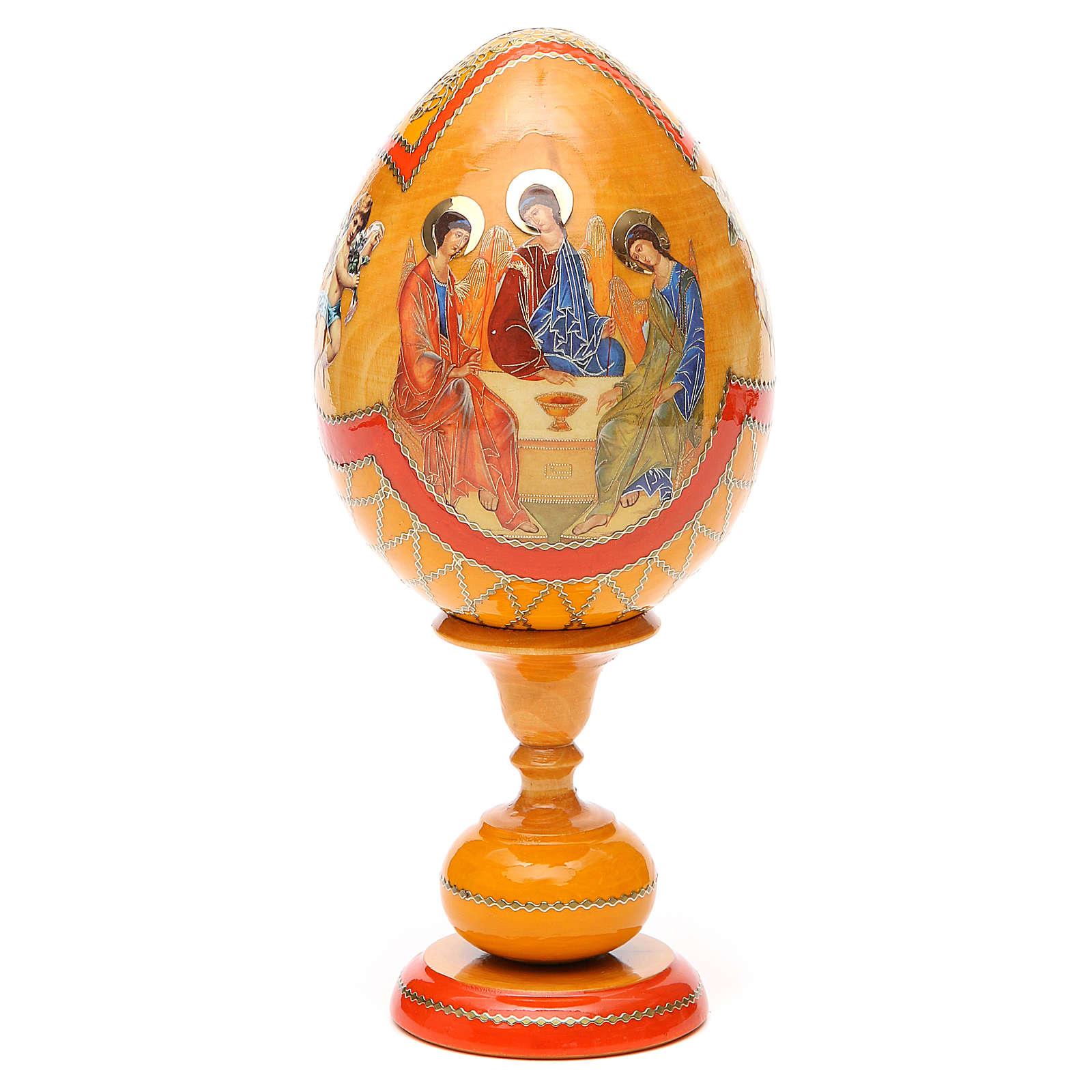 Russian Egg Rublev Trinity découpage, Fabergè style 20cm 4