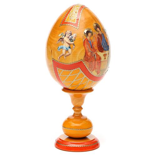 Russian Egg Rublev Trinity découpage, Fabergè style 20cm 8