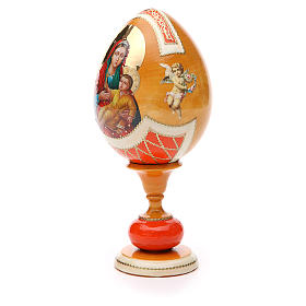 Russian Egg Kozelshanskaya découpage, Fabergè style 20cm s2
